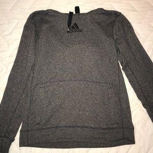 Adidas Grey Sweatshirt